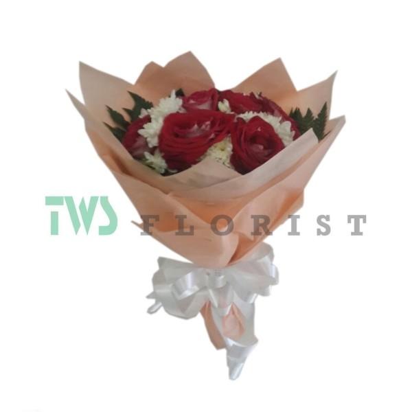 Bunga Mawar Hand Bouquet 02