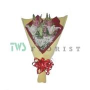 Bunga Mawar Hand Bouquet 06
