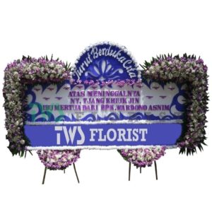 Bunga Papan Duka Cita TWS Florist 18