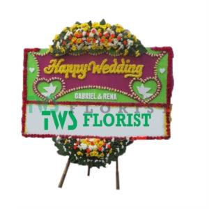 Bunga Papan Ucapan Selamat TWS Florist 03
