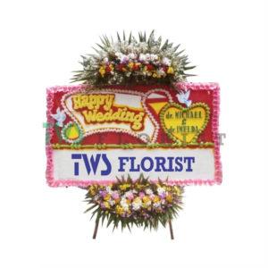Bunga Papan Ucapan Selamat TWS Florist 06