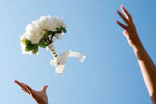 rqangkaian bunga pengantin