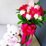 buket bunga cantik