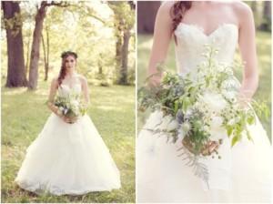 bunga pernikahan sederhana