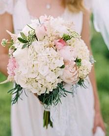 buket bunga hydrangea
