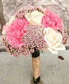 bunga buket padi