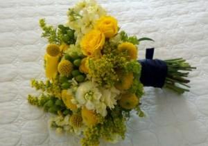 bunga buket solidago