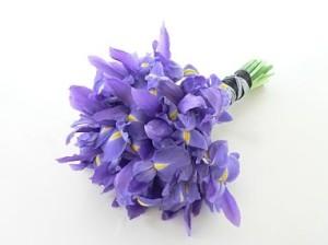 buket bunga iris