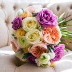 buket bunga pernikahan