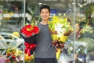 bunga untuk pria