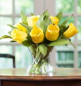 rangkaian-bunga-tulip-kuning
