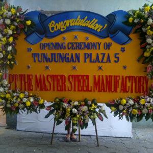 bunga papan ucapan selamat PSJ 06