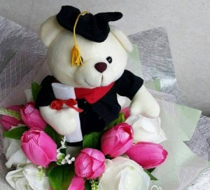Bunga Tulip Wisuda