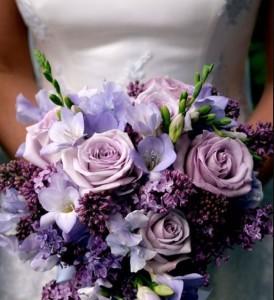 Buket Bunga Lilac