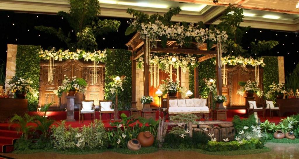 Bunga dekorasi pernikahan Jakarta
