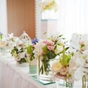 Bunga meja pernikahan2