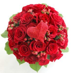 Rangkaian Buket Bunga Mawar