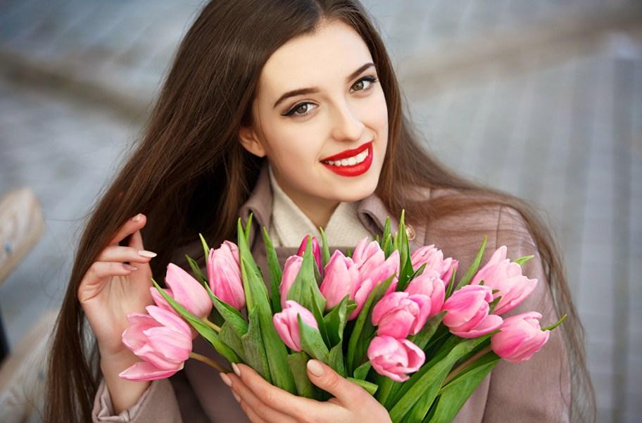 Rangkaian Buket Bunga Tulips