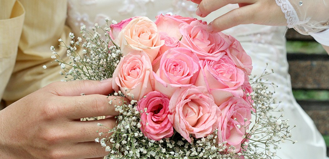 bunga tangan untuk pernikahan