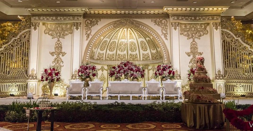 Dekorasi Pernikahan Modern Elegan