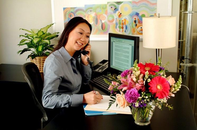 Rangkaian Bunga Untuk Rekan Bisnis