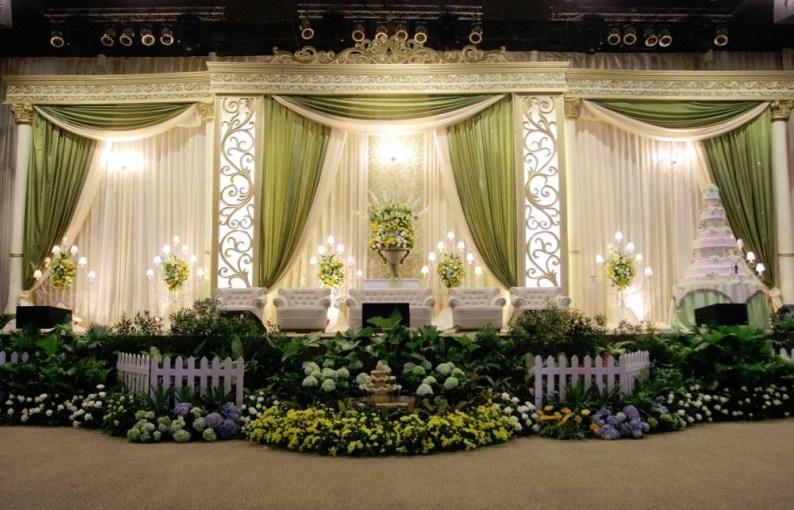20 ide dekorasi pernikahan sederhana cantik dan elegan