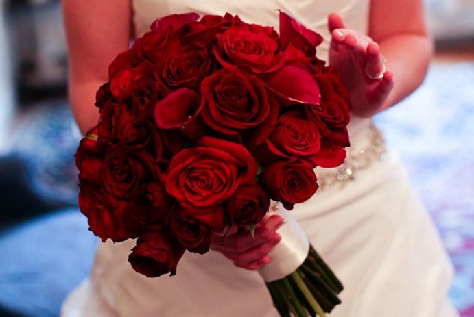 Bunga Mawar Wedding Bouquet