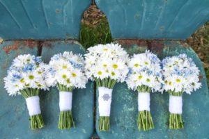Bunga daisy pernikahan