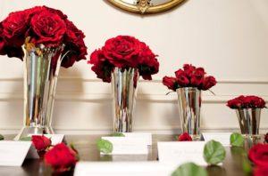 Bunga mawar merah pernikahan