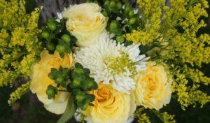 Bunga solidago pernikahan