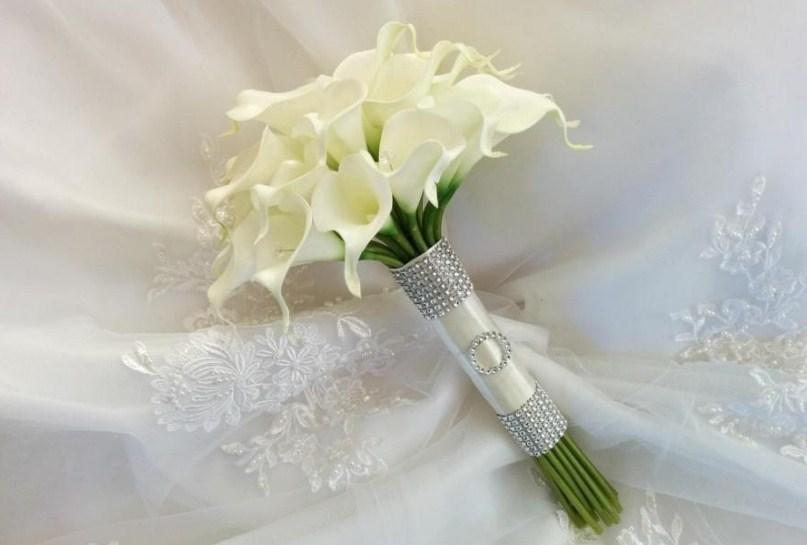 Calla lili wedding bouquet