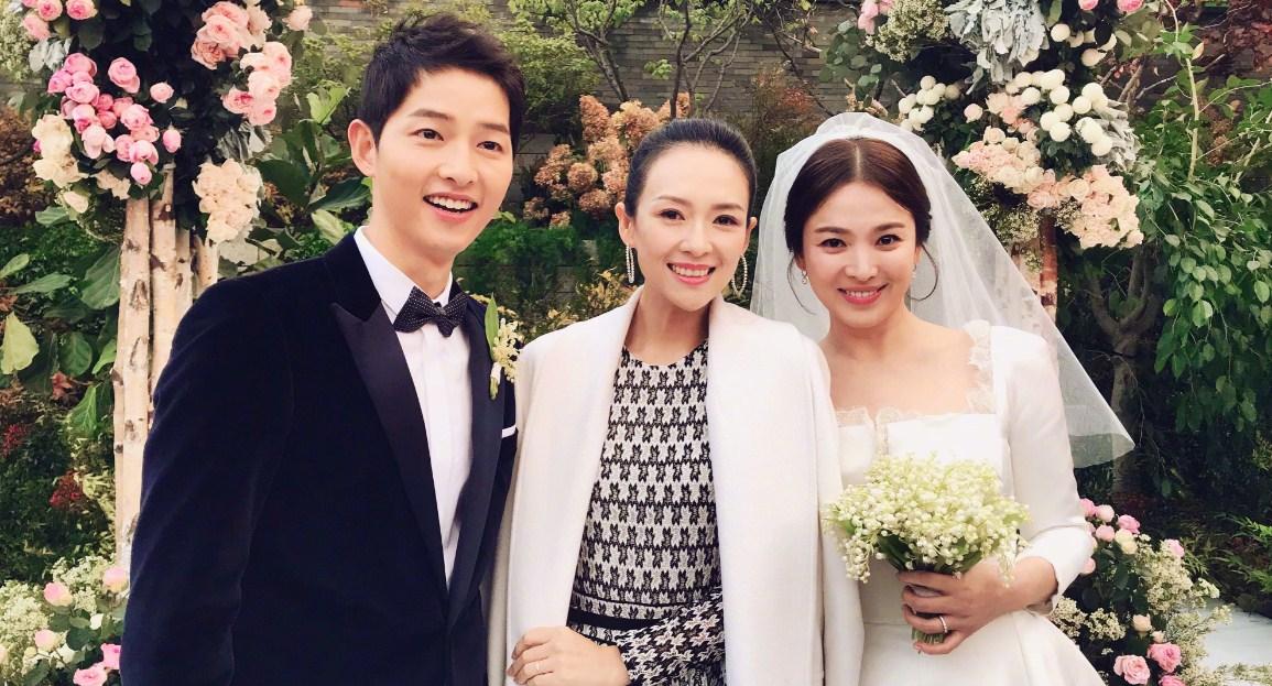 bunga pernikahan song hye kyo