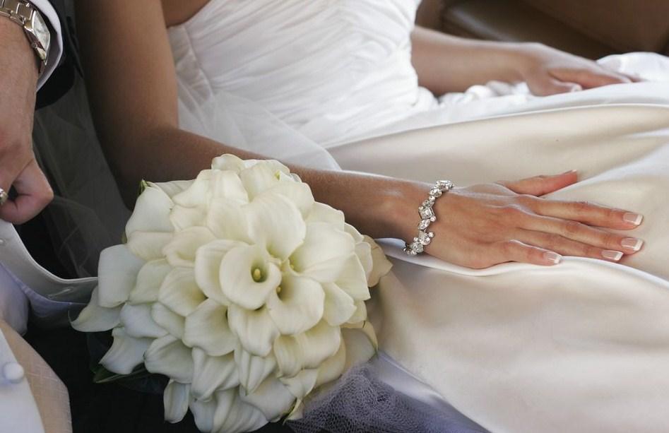 composite wedding bouquet