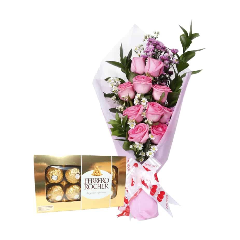 Buket Bunga Coklat Cgt 02 Toko Bunga Online Tws Florist
