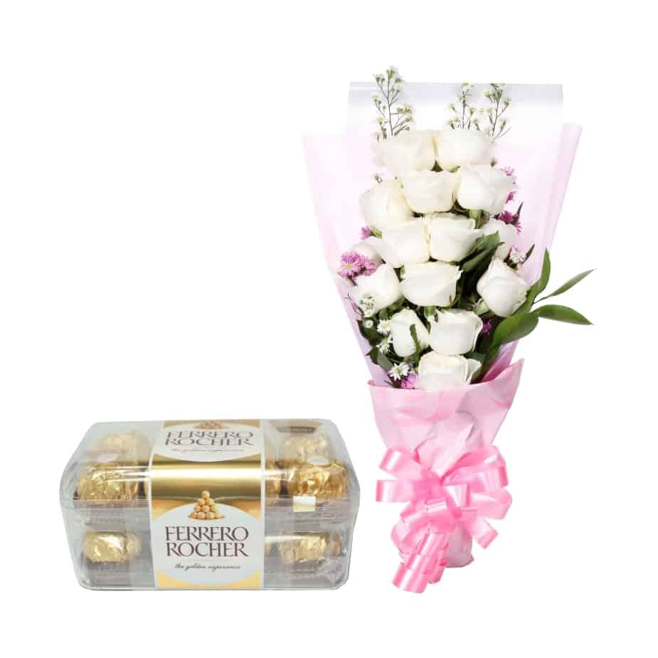Buket Bunga Coklat Cgt 07 Toko Bunga Online Tws Florist