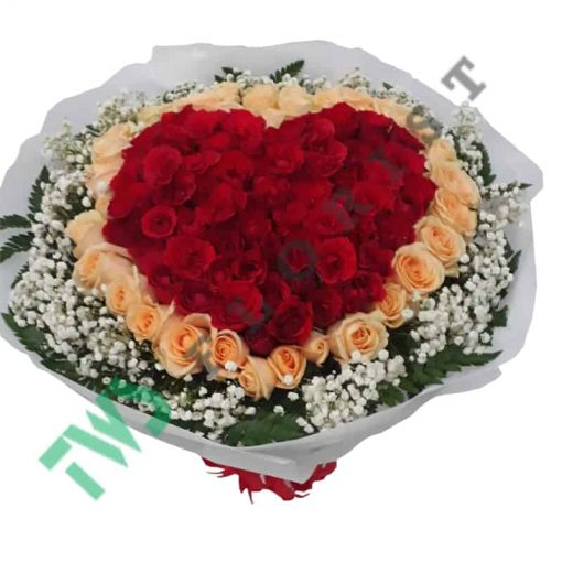 buket bunga mawar valentine