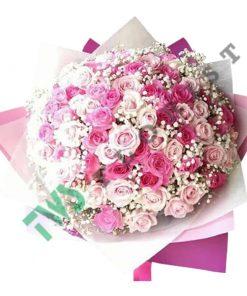toko bunga mawar valentine