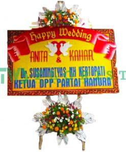 bunga papan ucapan selamat USMP 03