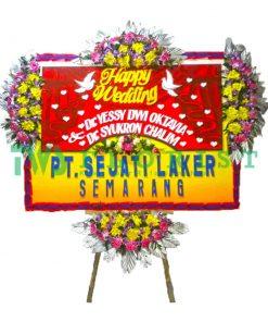 bunga papan ucapan selamat USMP 05