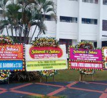 Bunga Papan Ucapan Selamat atau congratulations